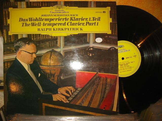 DGG - BACH WELL TEMPERED CLAVIER - R. KIRKPATRICK - 2 LP - 59